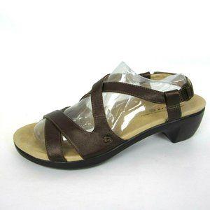 ARAVON by New Balance 11 B Bronze Brown Sandals